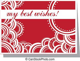 my best wishes!