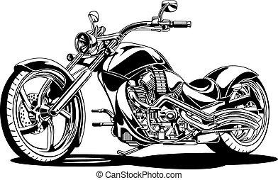 my black and white motorbike design - my original black and...
