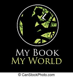 my book my world logo
