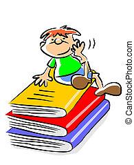 My books - illustration