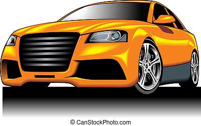 (my, cor, car, amarela, design), desporto, meu, original