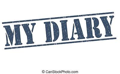 My diary stamp