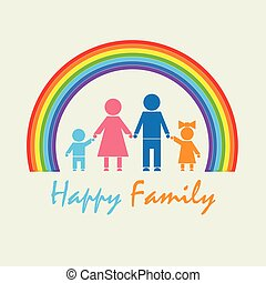 My Family under the rainbow