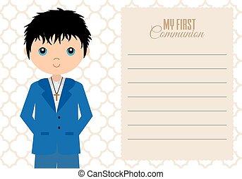 my first communion boy