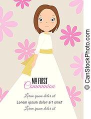 my first communion girl