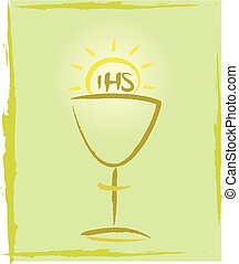 my first holy communion - backgroun - the eucharist -...
