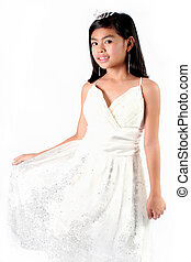 My Gown - Little Princess Series: Eight Year Old Asian Child...