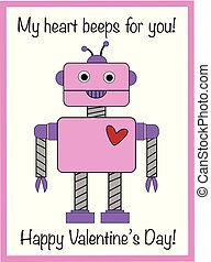 My Heart Beeps For You Valentine