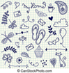 My Home doodles