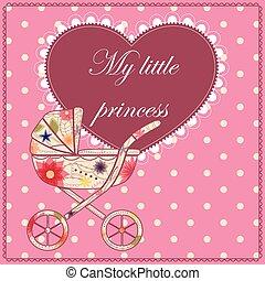 My little prince card