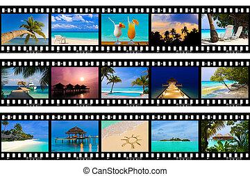(my, természet, utazás, photos), -, keret, film