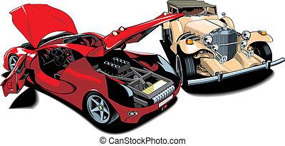 (my, vecchio, automobili, originale, sport, design)