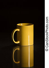 my yellow cup