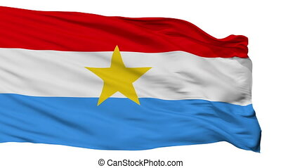 Myanmar Armed Forces Flag Isolated Seamless Loop - Myanmar...