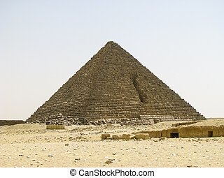 Mycerinus Pyramid of Giza
