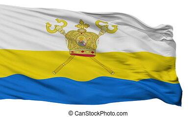 mykolaiv, drapeau ukraine, isolé, oblast