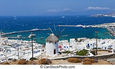 Mykonos, Cyclades Islands, Greece