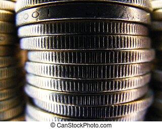 mynt, bakgrund