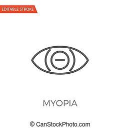 Myopia Vector Icon
