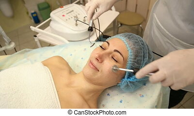Myostimulation cosmetic procedures