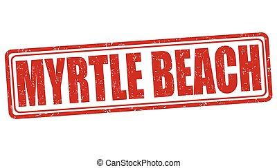 Myrtle Beach stamp