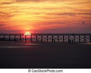 Myrtle Beach Sunrise - Sunrise in North Myrtle Beach, SC