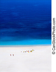 Myrtos beach Kefalonia, Greece