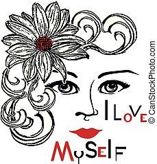 myself, 愛, 3