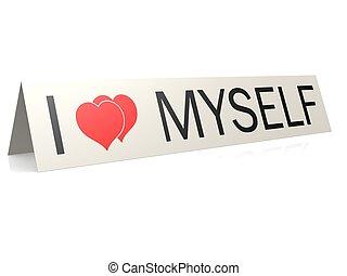 myself, amour