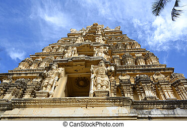 mysore, indie, świątynia, pałac