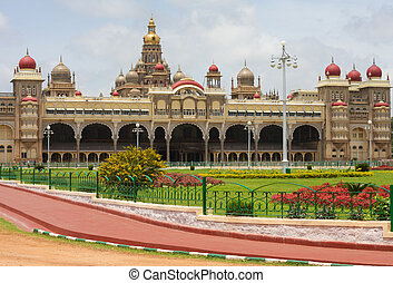 mysore, palais