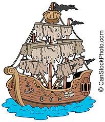 mystérieux, bateau
