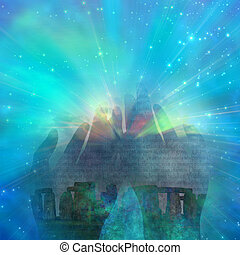 Myst - Stonehenge abstract