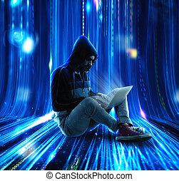 mysterieus, computerkraker
