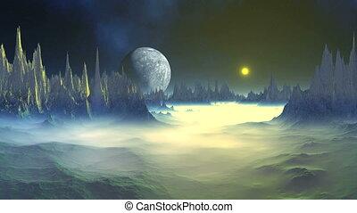Mysterious Alien Planet