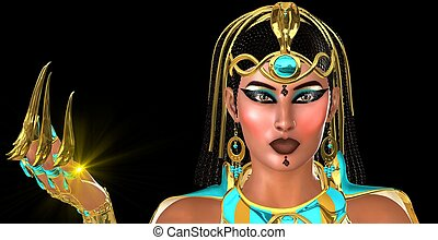 Mysterious Egyptian Woman