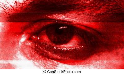 Mysterious eye (seamless loop)
