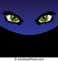 Mystery eyes