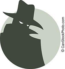 mystery man icon