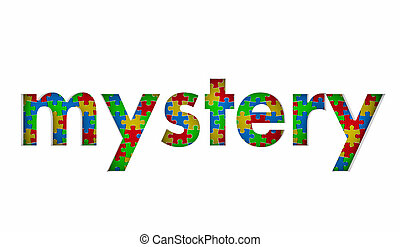 Mystery Puzzle Pieces Solution Problem Secret Solved 3d Illustration