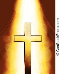 Mystic golden Cross