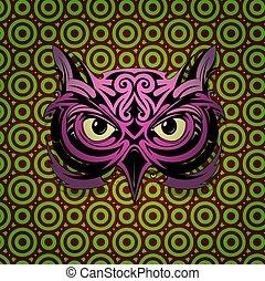 Mystic owl shape