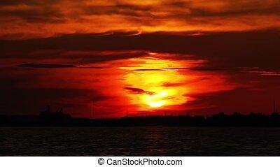 Mystic Sunset Time Lapse