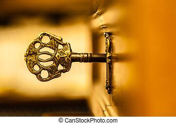 Mystical old key