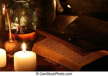 Mystical Scene - A mystical scene