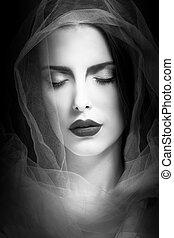 mystical woman beauty