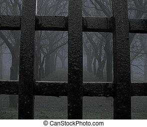 mystiker, park, (jail)
