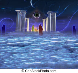 mystique, temple