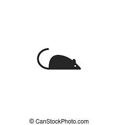 mysz ikona, logo
