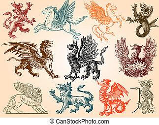 Mythical animals